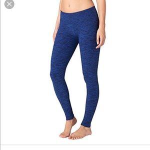 Beyond yoga blue and black leggings